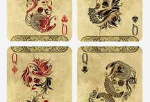 Playing Cards / Different #decks of #playingcards with amazing artwork