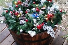 christmas barrels for work