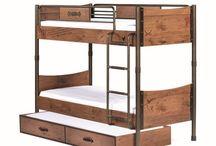 Łóżka piętrowe Black Pirate