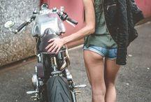 Motorbikes / Motorbikes and birds
