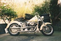 Johns Old Rides / These are just some of the bikes that John built back in the day, he's not just an IT nerd.