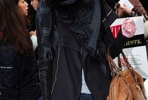 The jacket + scarf... to die for