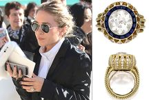 Celebrity engagement rings / Inspiration, the best celebrity engagement rings.