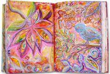 Art journaling/smash book / by Maja Jensen