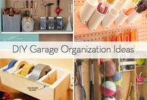 garage organization / by Carol Clancy