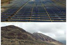 Large-scale Solar Projects / Harnessing the power of the sun in a big way