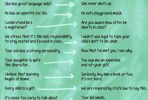 Teacher thoughts