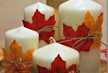 dekoracie jesen