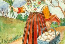 Wielkanoc - ilustracje