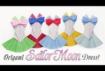 折り紙ドレス