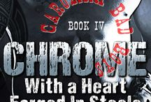 My Novels: CHROME (Carolina Bad Boys #4) / The bigger they are, the harder they fall. Coming late summer 2015! http://www.riewarren.com/books/chrome-with-a-heart-forged-in-steele/?book=5 / by Rie Warren