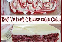 Red velvet desserts / by Stephanie Lasseigne