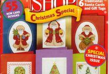 point de croix - cross stitch card shop