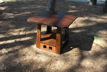 23 inch Limbert Pagoda Table with Thick Top / 23 inch Limbert Pagoda Table with Thick Top
