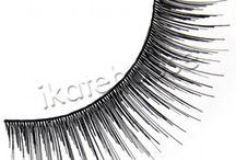 Eyelashes at ikatehouse / strip lashes, individual lashes, special lashes and lash applicators