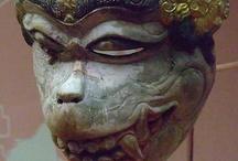 Asie equatoriale - masques / Masques d'Indonésie et des philippines