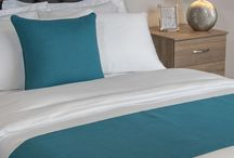 Runners / Our runners have been meticulously crafted and beautifully made to give your venue that much-needed wow-factor designed to make a guest's stay that little more memorable. Bring your bed to life with one of our wide range of runners and throws, in both premium and classic styles and in a vast collection of colours.