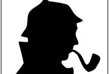 Sherlock Holmes Cover / alle Sherlock Holmes Romane und Kurzgeschichten, überarbeitet und illustriert http://null-papier.de/holmes