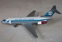 KLM DC9 Made in Japan