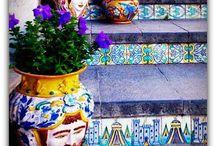 lépcsők és mozaikok