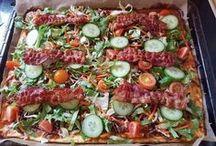 Hverdags mad med egen fyld ( pizza- rollers- waps