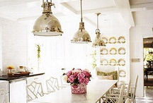 {kitchens} / by Mary Louise Menendez