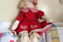 Muñecas  / Me encanta las muñecas de trapo
