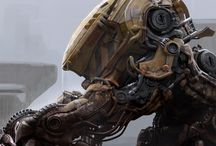 Mechs, Machines, Bots & Droids