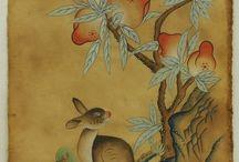 Korean Rabbits, Dragons, Flora & Fauna