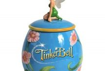 Tinker Bell Ceramic Cookie Jar