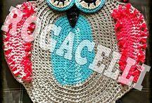 owl carpet crochet
