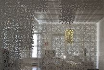 Set Design Possibilities / projection | flexible laser cut hangings | both together