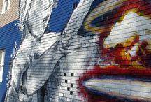 inner city street art