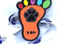 Virtual Running UK Dog Running Medals