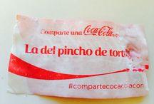 Etiquetas de la Coca-Cola / Es evidente. La propiedad intelectual es de quien la posea.