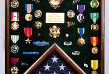 Papa's medals and buttons