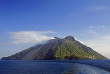 Island Of Stromboli - Stromboli Volcano / Mt. Stromboli has been in almost continuous eruption for the past 2,000 years. Here is a photo of the volcanic activity of Mt. Stromboli.