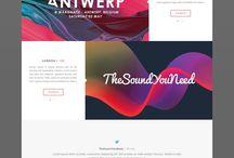 onepage site design
