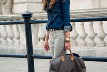 daily outfit: blue & denim