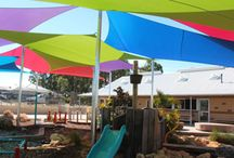 School Shade Sail Projects / Our shade sails are designed with this in mind. Free Flowing, natural shapes not only provide protection but are also aesthetically pleasing. You'll get a look which you will love from some of the best designers who understand shade sails in Perth.