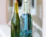 Decoraçãoem garrafas