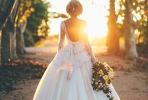 Backless Ball Gown Wedding Dress