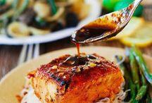 Seafood recipes / by Janine Moulard-Morrisey