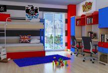 Παιδικό- νεανικό δωμάτιο / Ολοκληρωμένες λύσεις για το παιδικό δωμάτιο. Βρείτε τα και στο www.asterias.com.gr