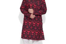 Cotton Long Kurta - Men / Step out in men's kurtas, which are designed to show off your style with ease. Bring out your fashionable side with carefully chosen men's kurtas and get ready to rock every occasion.