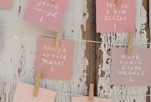 NAME CARDS & TABLE PLANS