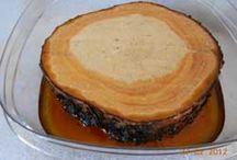 Preserve cut wood circles