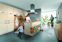 Möbel in der Küche