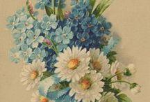 Декупаж цветы