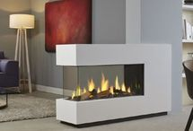 Gas Fires / Designed to fit a variety of fireplace openings, our contemporary gas fires are available in a diverse range of styles and sizes. From the breathtaking collection of Studio gas fires to the hearth-mounted Inset gas fires, creating a snug area in your home has never been so rewarding!